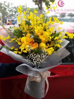 Bó hoa chúc mừng sinh nhật hoa lan vũ nữ