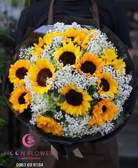 Bó hoa hướng dương tặng sinh nhật - MoonFlower Hanoi