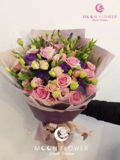 Bó hoa tặng sinh nhật hồng sen