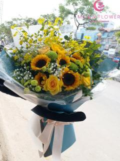 Bó hoa tặng sinh nhật lan vũ nữ