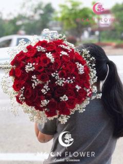 Bó hoa tặng sinh nhật người yêu