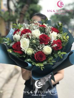 Bó hoa tặng sinh nhật tại hà nội hoa hồng đỏ