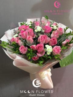 Bó hoa tặng sinh nhật tại hà nội hồng sen