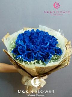 Bó hoa tặng sinh nhật tại hà nội hồng xanh