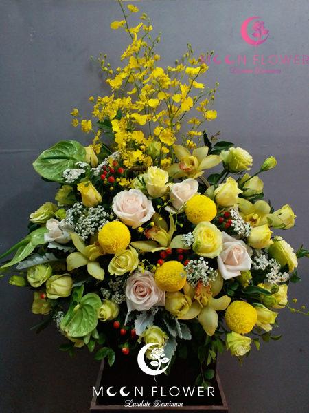 giỏ hoa tặng sinh nhật đàn ông tại hà nội