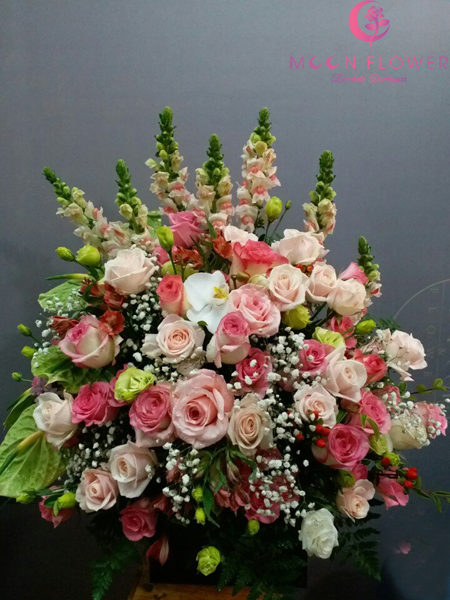 giỏ hoa tặng sinh nhật nữ giới