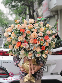 Bình hoa mừng sinh nhật Hà Nội - Sang Trọng