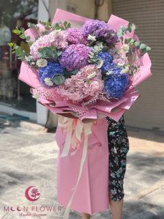 Bó hoa cẩm tú cầu nhập khẩu - Biết ơn chân thành