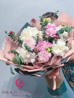 Bó hoa mẫu đơn tại Hà Nội - Thanh Cao