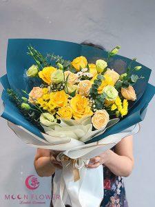 Bó hoa sinh nhật đẹp - Nắng Mai