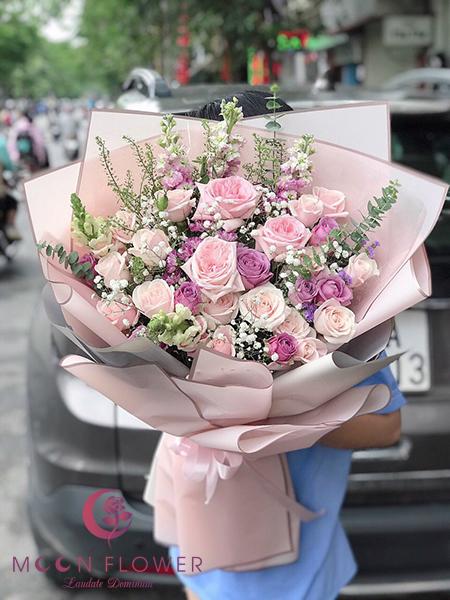 Bó hoa tặng 20 tháng 10 - Hân Hoan