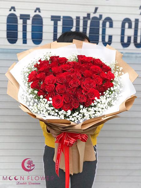 Bó hoa tặng vợ ngày 20/10 - Big Love