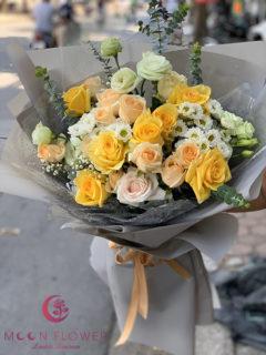 Bó hoa tặng sinh nhật Hà Nội - Lời chúc may mắn