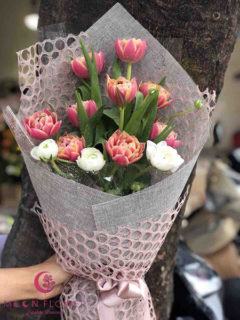 Bó hoa tuylip đẹp - Huyền Bí