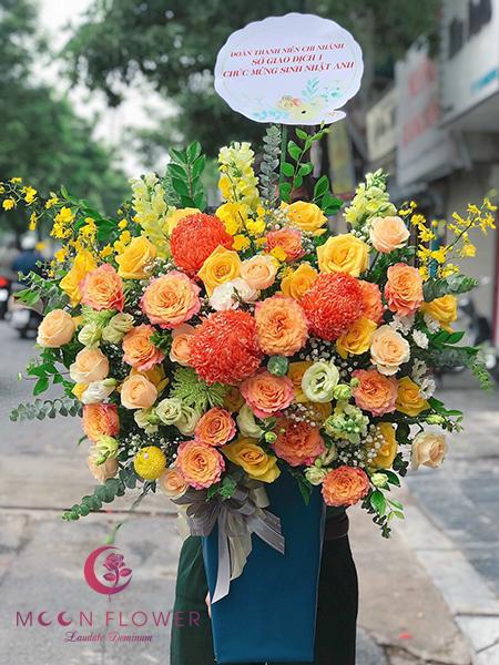 Giỏ hoa mừng sinh nhật Hà Nội - Đặc Biệt