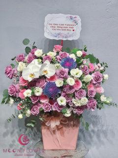 Giỏ hoa sinh nhật - Huyền Bí