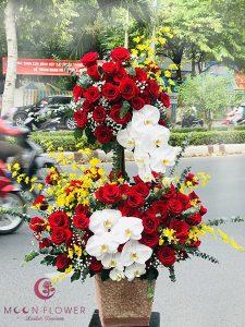 Giỏ hoa sinh nhật đẹp - Vượng khí