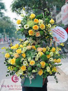 Giỏ hoa tặng sinh nhật - Thịnh Vượng Phát Triển