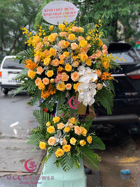 Đặt hoa khai trương - Đắc Lộc