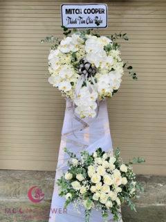 Vòng hoa chia buồn Hà Nội - Ngàn Thu